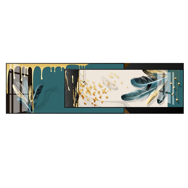 【欧圣】客厅装饰画现代简约沙发背景墙