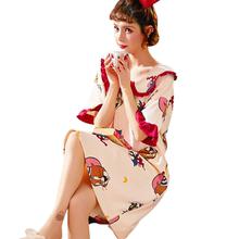 【雅模派对】纯棉夏季甜美可爱女睡裙