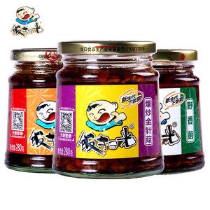 饭扫光四川特产野香菌金针菇下饭菜