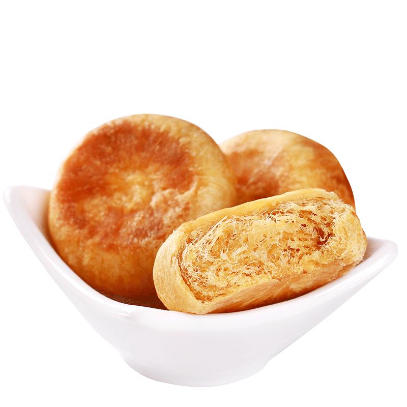 友臣!营养早餐肉松饼散装500g