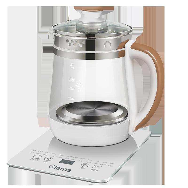 知美养生壶多功能家用电热烧水壶煮茶器