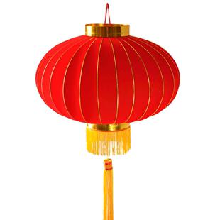 新年春節紅燈籠掛飾定製印字裝飾廣告户外陽台防曬大門口大紅燈籠