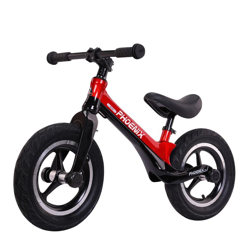 凤凰脚踏幼儿学步1-3-6岁2平衡车