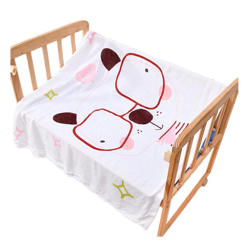 婴儿抱被新生儿包被夏季薄款包巾宝宝空调被子浴巾竹纤维冰丝盖毯_天猫超市优惠券