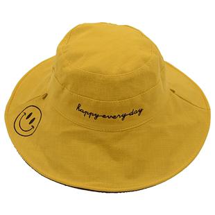 兒童帽子秋季防曬遮陽帽時尚洋氣寶寶太陽帽男潮漁夫帽女童秋薄款