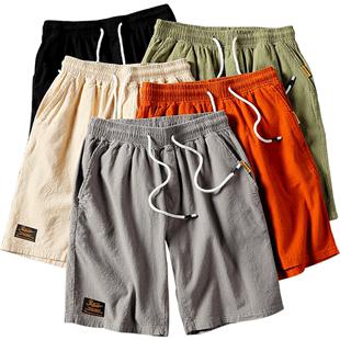 短褲男士夏季韓版潮流工裝休閒五分褲寬鬆大碼沙灘褲薄款運動褲子