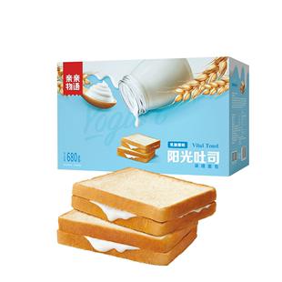 亲亲物语早餐吐司夹心全麦面包蛋糕