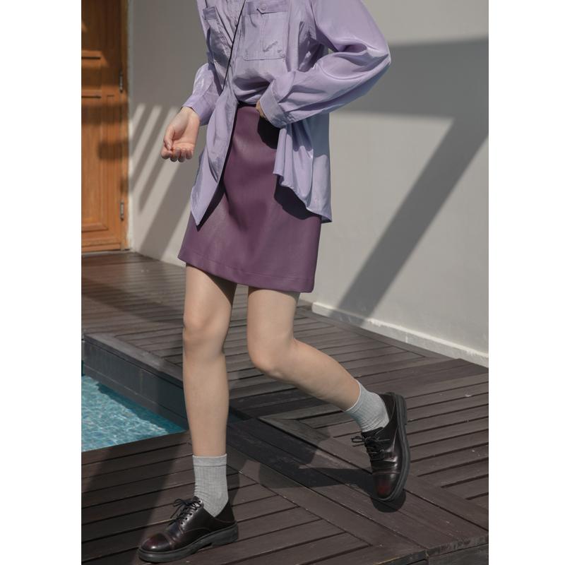 穿黑皮裙配什么鞋子:黑色皮裙配这些鞋子图