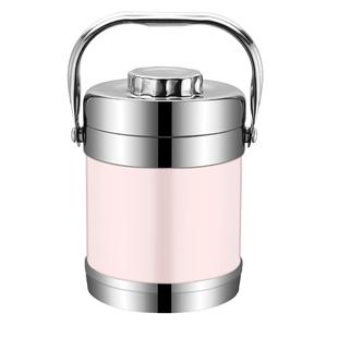 不锈钢保温桶超长保温2 / 3饭盒可在爱乐优品网领取2元天猫优惠券