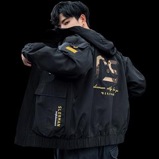 男2019新款韩版潮流青少年网红夹克