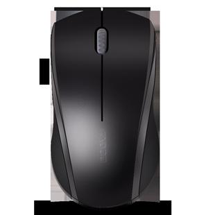 雷柏M18无线鼠标静音无声笔记本台式MAC电脑办公商务无限游戏鼠标