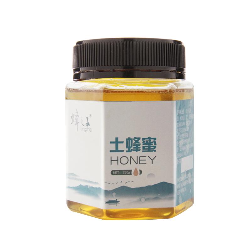 蜂之子土蜂蜜农家自产野山花原蜜多百花天然土生态峰蜜350g买1送1