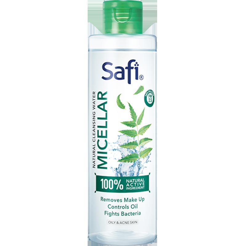 Safi夏芙印楝叶深层清洁免洗卸妆水