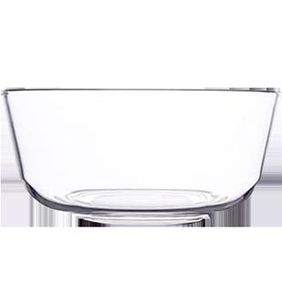 大號透明玻璃碗套裝家用可愛ins耐熱創意餐具水果沙拉洗菜盆盤子