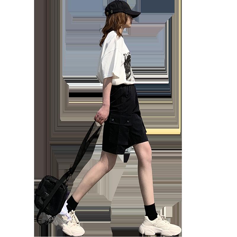 【雅羊人】春夏bf风帅气工装短裤