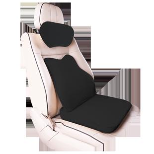 汽車頭枕護頸枕靠枕車載座椅枕頭腰靠專用記憶棉一對頸椎車內用品