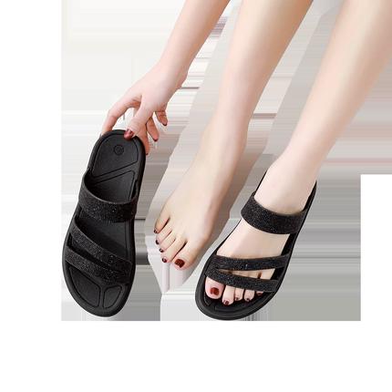 2019韩版新款女夏网红同款沙滩鞋可在爱乐优品网领取2元淘宝优惠券