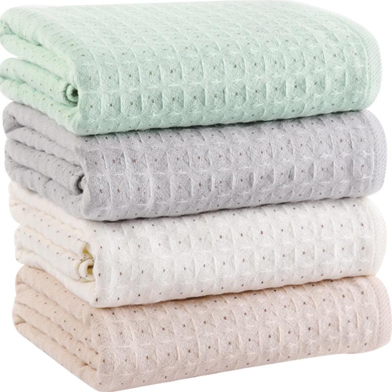 家用纯棉吸水大人女洗澡少女号浴巾使用评测