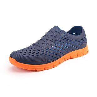 不磨脚硅胶旅游鞋果冻包跟秋休闲鞋