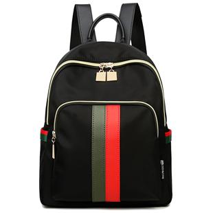 ZEDI/佐迪2019牛津布雙肩包女新款韓版尼龍百搭揹包休閒旅遊包包