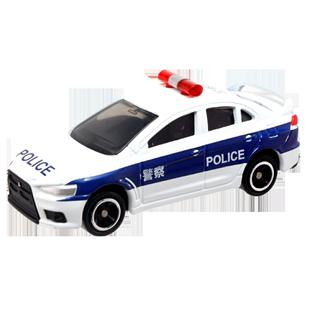 TOMY多美卡合金車模型TOMICA警察巡邏車男孩多美卡警車玩具小汽車