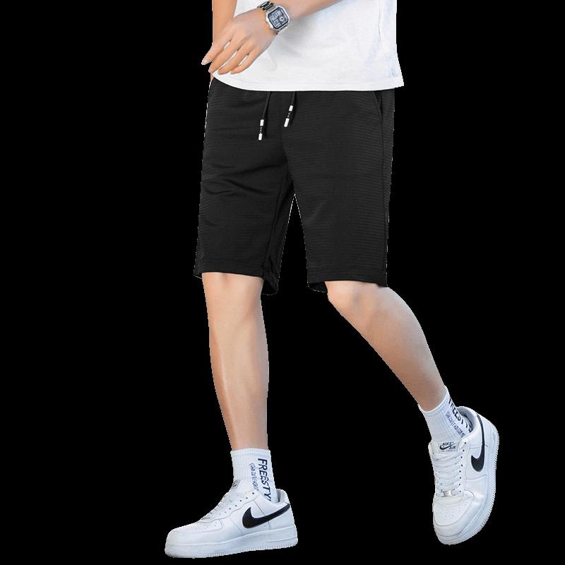 【人气单品】夏季薄款速干短裤男五分运动裤