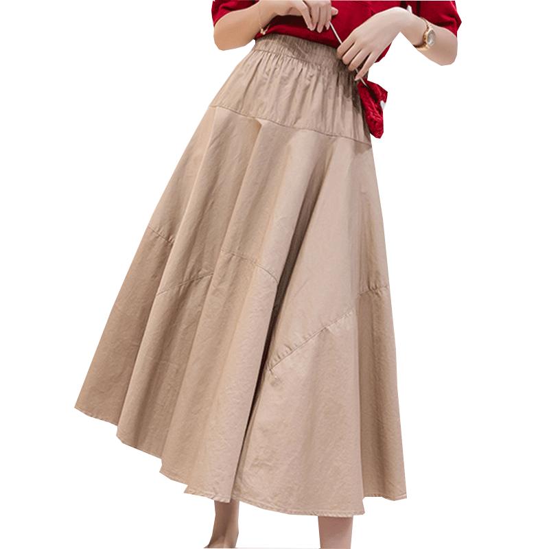 文艺棉布长裙怎么搭配:棉布长裙