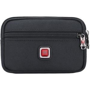瑞士男手机腰包横款斜挎单肩小包