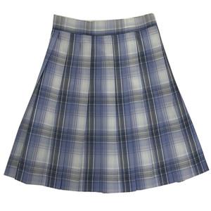 【IQCQ】温柔假象现货原创jk制服格裙套装日系学生浅灰学院风短裙