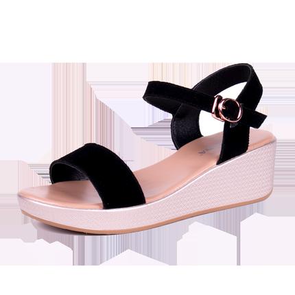 2019夏季凉鞋新款平底chic仙女鞋