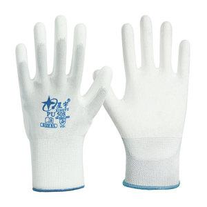星宇pu508pu518舒适防静电工作手套