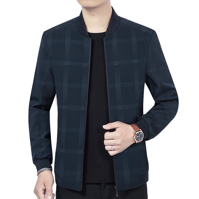 青年男士秋冬新品潮流休闲夹克加绒保暖外套