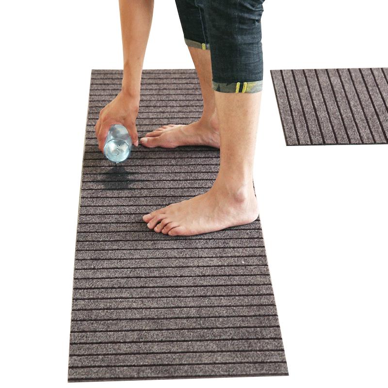 耐脏门口脚垫长条厨房地垫防滑防油防水地毯家用门垫进门垫子定制
