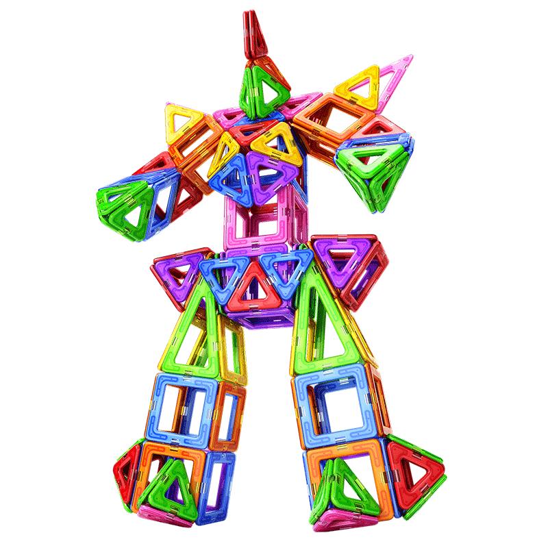 【11件套】嘟比磁力片儿童益智玩具