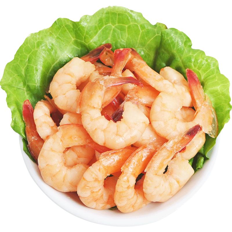 渔大叔香辣对虾仁干即食零食大连海鲜零食特产干货新鲜低脂非烤虾