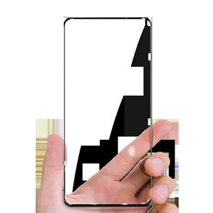oppok3鋼化膜k3手機k3oppo全屏覆蓋opk無白邊0ppo0pp0ppok原裝鑽石opopk防爆oppk高清oopok藍光poopk黑邊貼膜