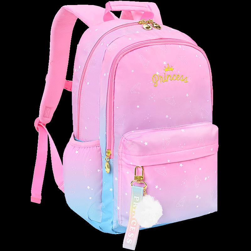 书包小学生迪士尼一二三四五六年级韩版公主女生女童轻便儿童背包