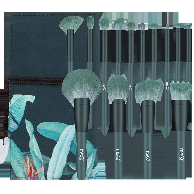 MSQ/魅丝蔻14支芭蕉化妆刷套装粉底刷散粉眼影刷全套刷子美妆工具