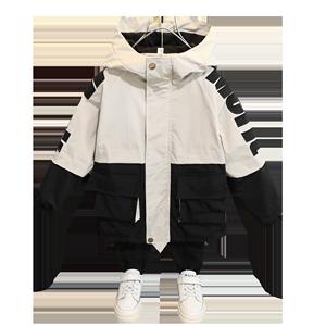 男童潮2020新款春装洋气韩版夹克