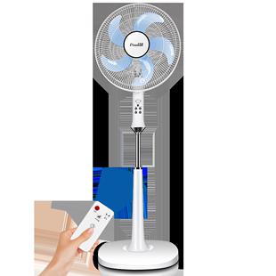 卡帝亚电风扇落地家用立式静音 电扇智能声控天猫精灵 风扇落地扇