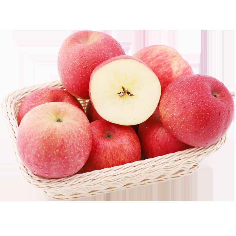 洛川一级大果冰糖心红富士苹果