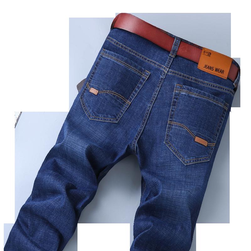 沃富亚休闲裤薄款男士夏装2020中年男裤宽松直筒秋季西裤男爸爸裤