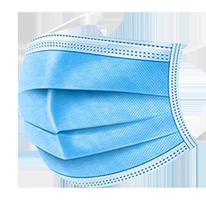 现货一次性口罩三层防尘防护白色夏天薄款透气成人儿童口鼻罩50只