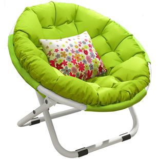 懶人沙發月亮椅宿舍電腦單人學生躺椅子家用卧室現代簡約陽台摺疊