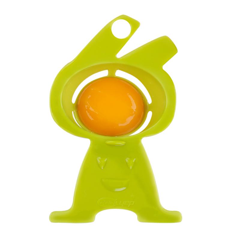 英国酷易 蛋清蛋黄分离器婴儿辅食蛋白分蛋器家用鸡蛋液过滤神器