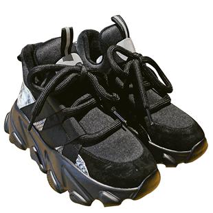 Daphne/達芙妮老爹鞋女2020春季新款ins網紅運動鞋潮鞋黑色休閒鞋
