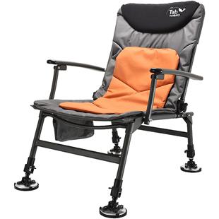 Tab歐式筏釣椅可躺式釣魚座椅摺疊椅超輕便攜 台釣椅子多功能釣凳