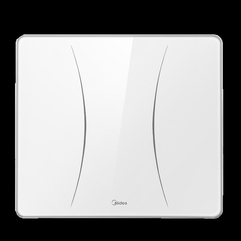美的充电款体重秤精准高精度电子称重计家用智能人体小型减肥耐用