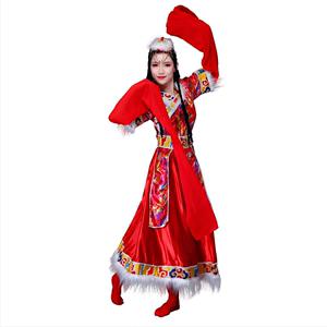 依知花新款藏族成人水袖包邮