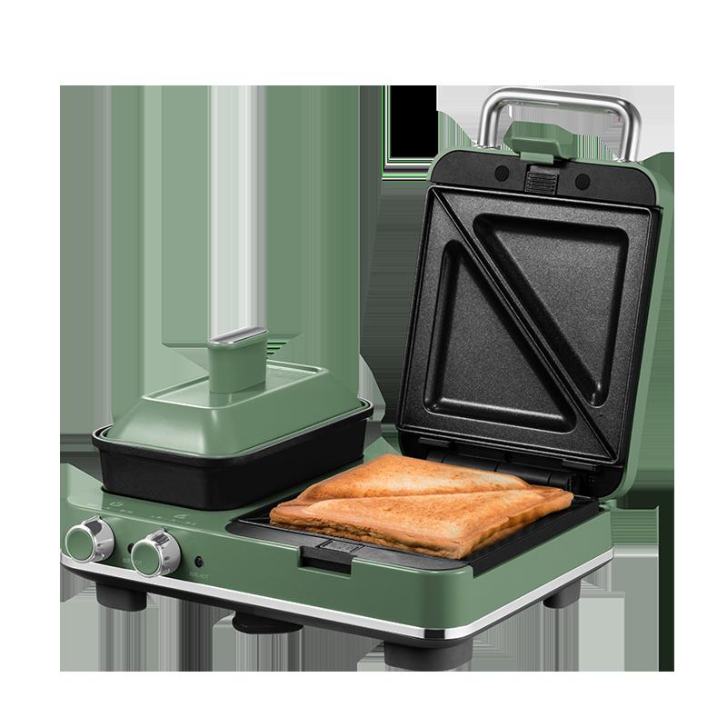 【摩飞】多功能三明治早餐轻食机